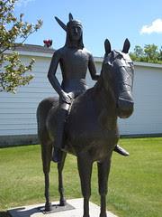 Horseback Indian