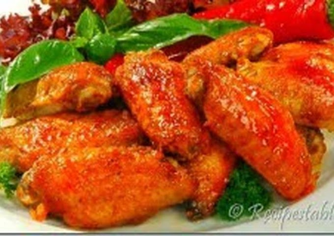 Step-by-Step Guide to Make Award-winning Low fat chicken wings