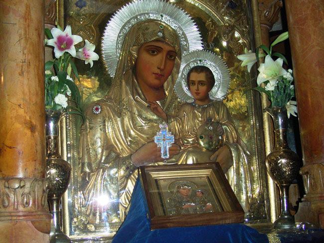 Αποτέλεσμα εικόνας για παναγια ιεροσολυμιτισσα εικονα