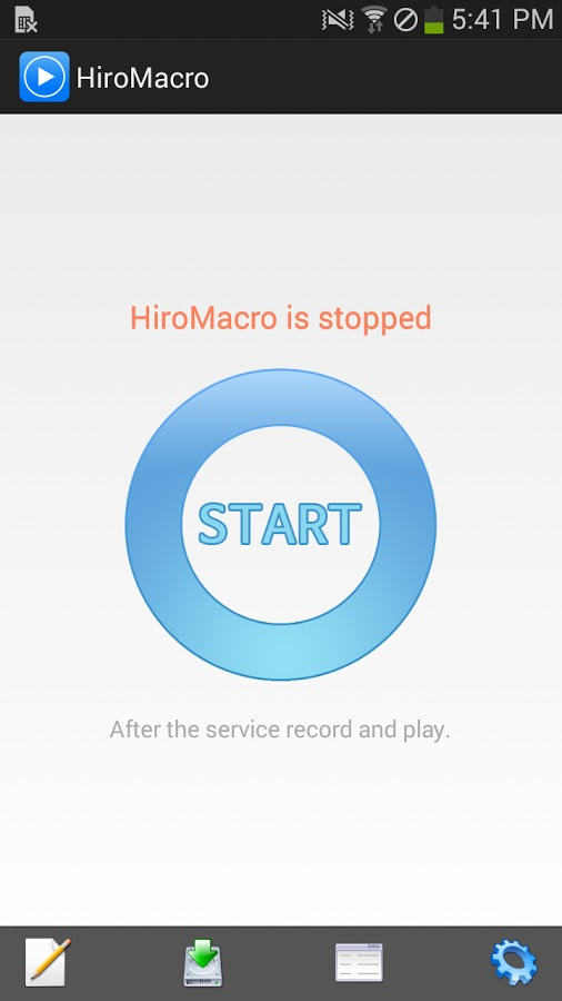 Android Macro İmacros Benzeri