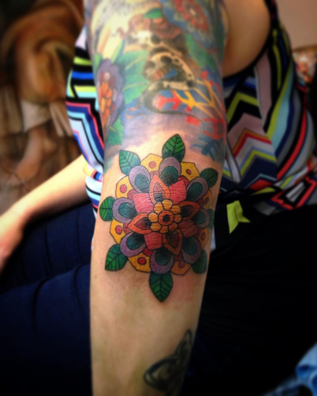 120+ Best Elbow Tattoo Designs & Meanings - Popular Types
