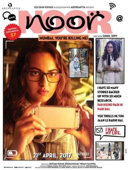 Noor Hindi Comedy film Poster