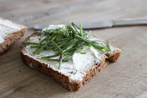 Schnittlauch-Brot