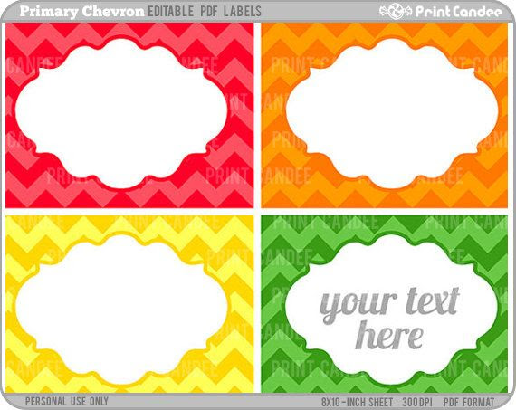 1000+ images about Stickers - editable on Pinterest | Name labels ...