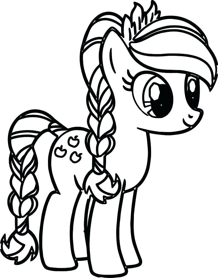 74 Top Coloring Pages Applejack Pictures