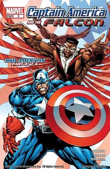 Marvel Comics Captain America And The Falcon
