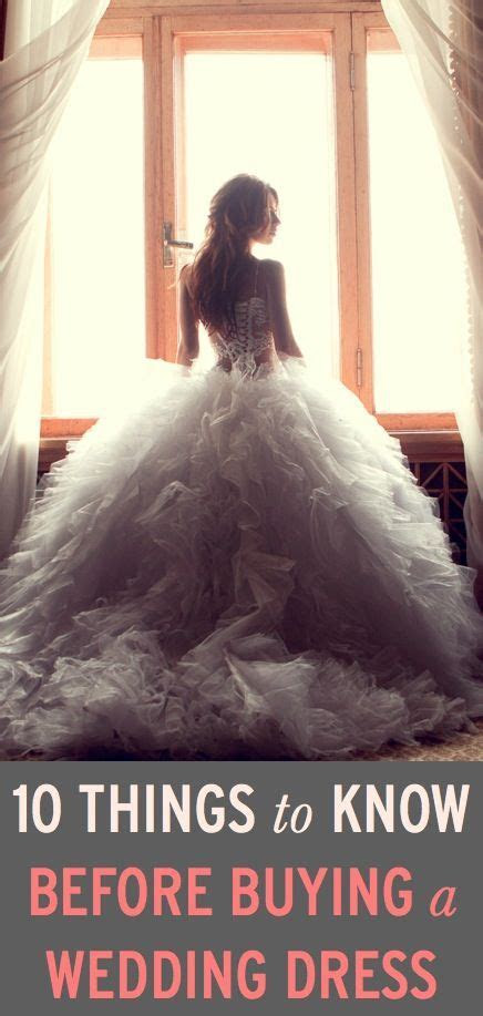 Wedding Dress Shopping: 10 Things You Must Know Before You