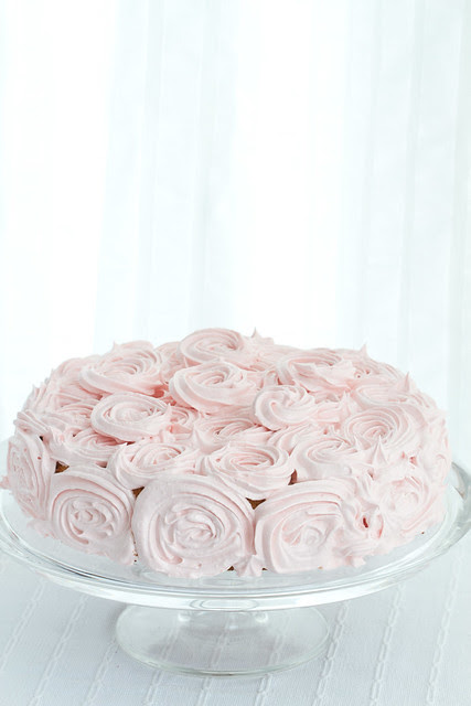 Sefiiritort / Rose cake