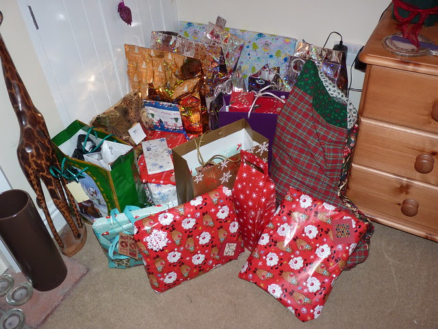 Presents on Christmas Morning