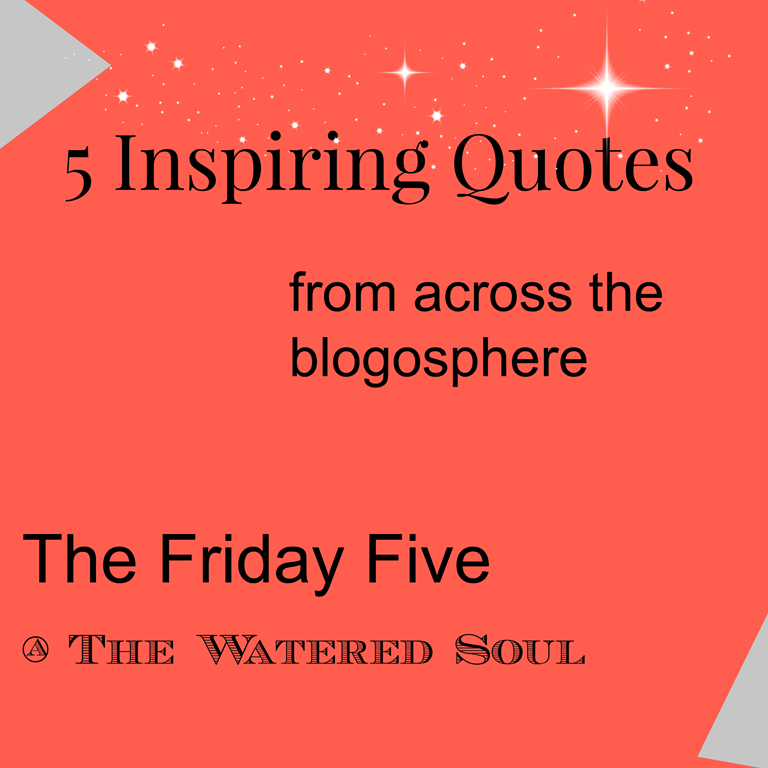 The Friday Five Of Obedience And Waking Up Our Hearts