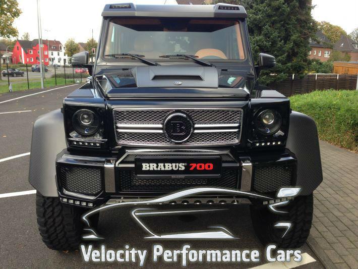 MercedesBenz G63 AMG 6X6 Brabus G700  Velocity Performance CarsVelocity Performance Cars
