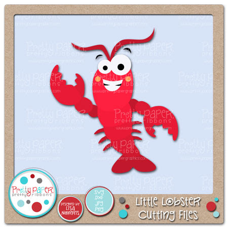Little Lobster Cutting Files
