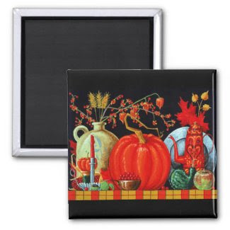 Autumn Festive Table magnet