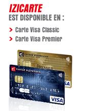 La Carte De Paiement Izicarte De La Caisse Dépargne