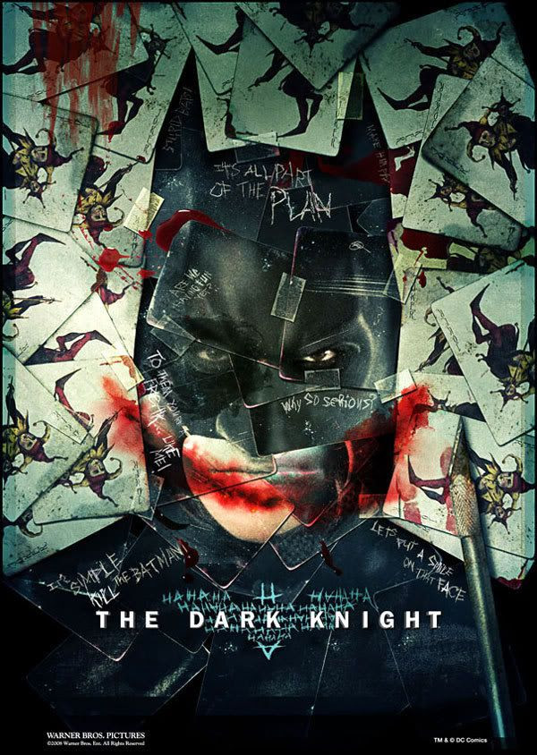 THE DARK KNIGHT Poster.
