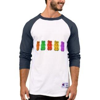 Pixelated Gummy Bears Tee Shirt