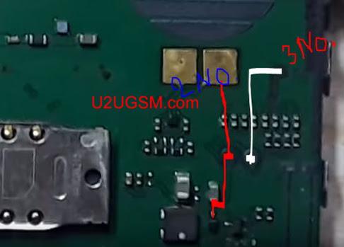Nokia 1616 Display Light Solution LCD Jumper Problem Ways