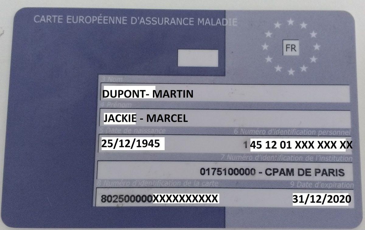 commander une carte européenne d assurance maladie 25 Images Carte Assurance Maladie Etranger