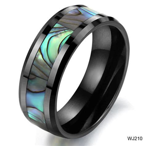 BEST SELLING COLORFUL RINGS FOR MALE NATURAL SHELL RINGS