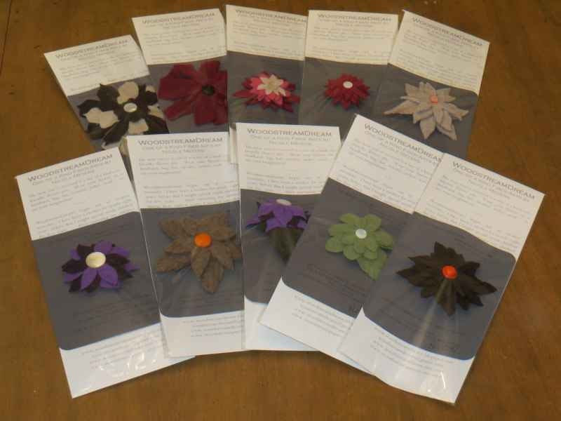 Upcycled OOAK Flower Pin - Made to Order - Custom Gift - 2013 Oscars Celebrity Gifting Lounge