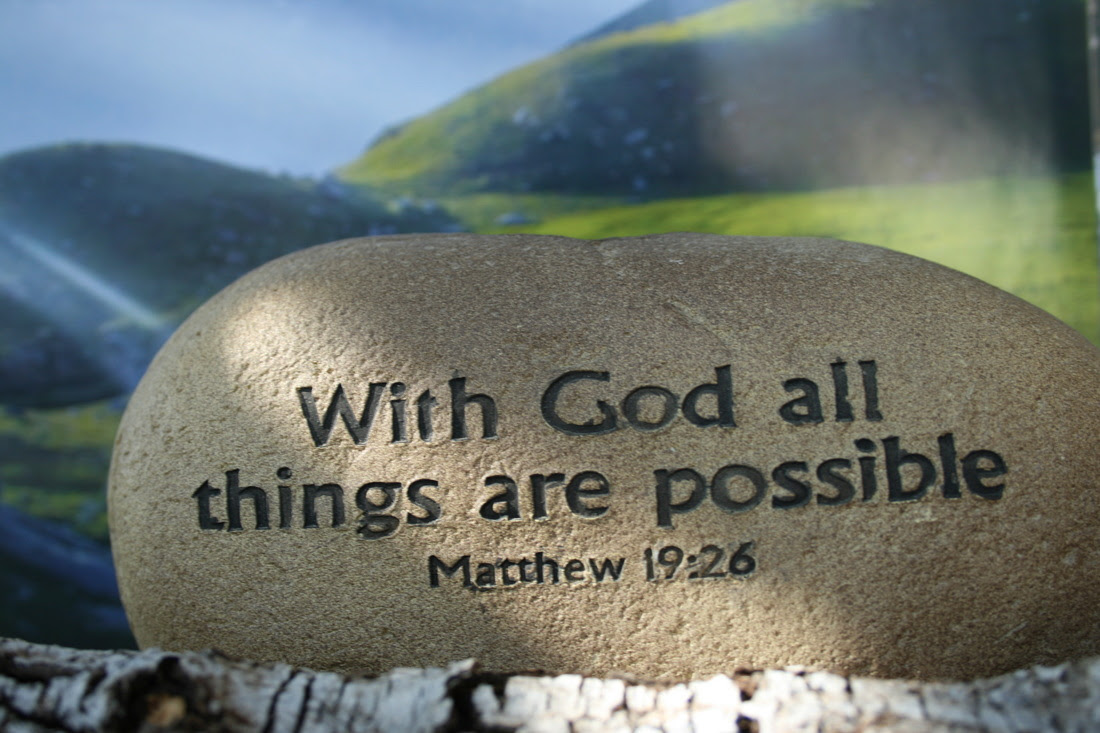 I Love Jesus Christ With God All Things Are Possible