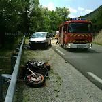 JAUSIERS. Alpes-de-Haute-Provence : un motard italien se tue en percutant une voiture