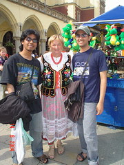 Bersama Wanita Polish di Kraków, Poland