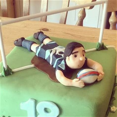 17 Best images about Rugby cake on Pinterest   Ball