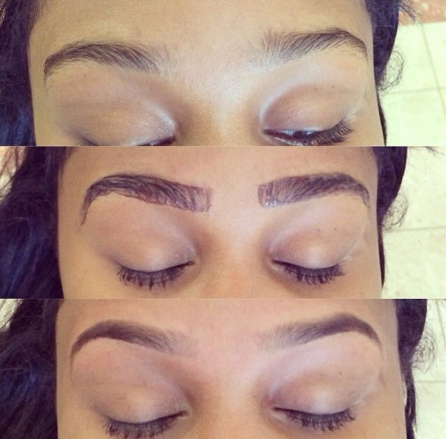 Eyebrow Tinting Before And After - All You Need Infos