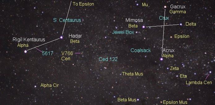 Image result for Epsilon crucis images