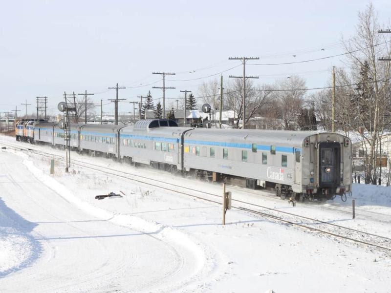VIA train 693 aka the Hudson Bay