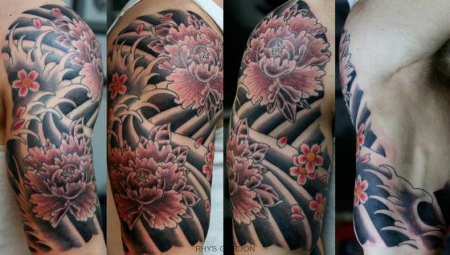Meaning Japanese Peonies Tattoo