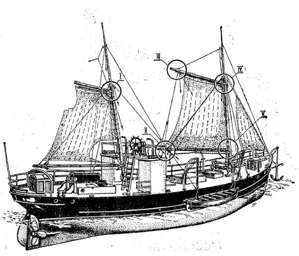 lena steam schooner model ship plans