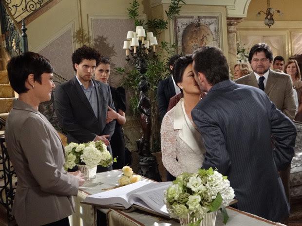 casamento-Clô-Samir-O Astro (Foto: O Astro / TV Globo)