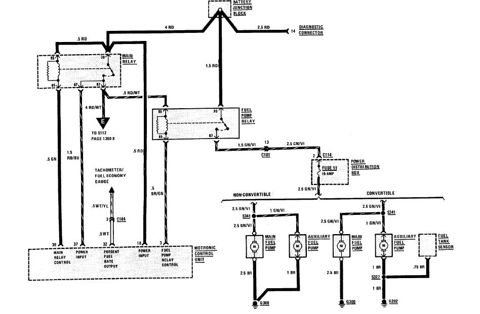 2001 Bmw 325i Fuel Pump Wiring Diagram