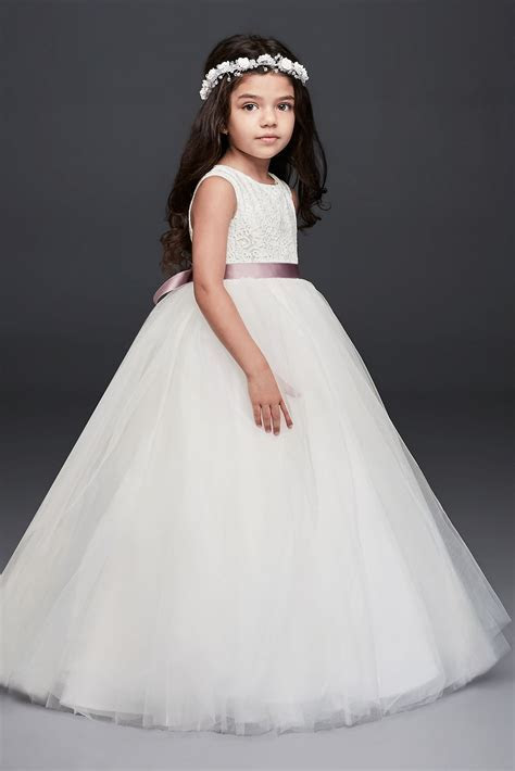 New Arirval 2016 Ball Gown Flower Girl Dress with Heart