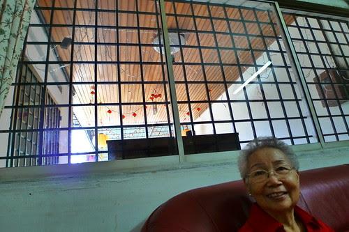 Artistic shot of Grandma