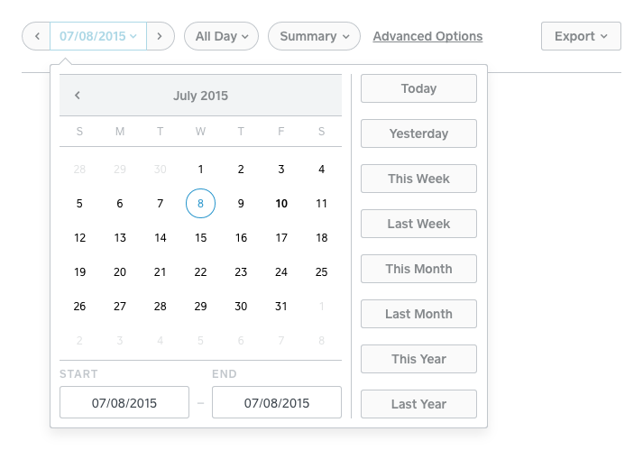 Summaries and Reports from the Online Dashboard | Square Support ...