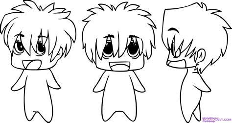 draw chibi anime step  step chibis draw chibi
