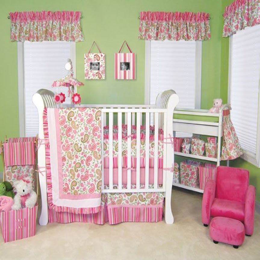 Adorable Baby Girl Nursery Ideas   Ideas 4 Homes