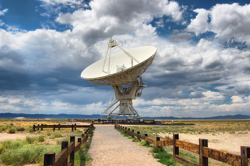 VLA Radio Antenna