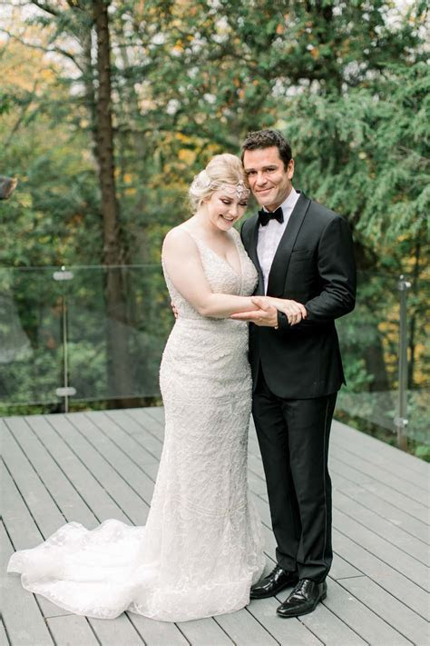 A Beautiful Art Deco Wedding At The McMichael Art Gallery