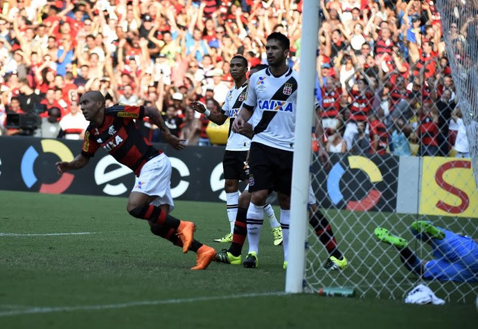 Gol Fla Sheik (Foto: André Durão)