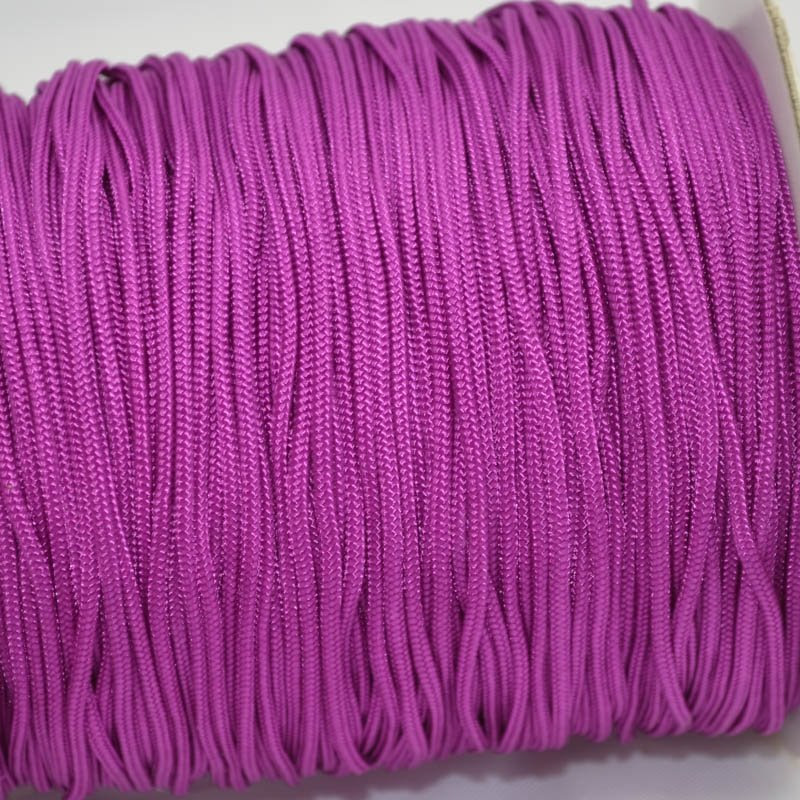 75401002-28 Braid - 2 mm Asian Knotting Cord - Cardinal Purple (1 meter)