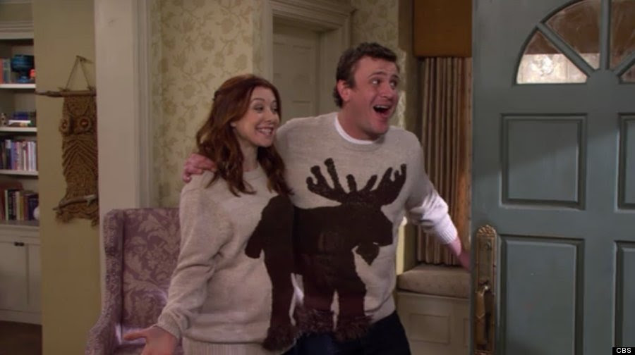 lily marshall moose sweater
