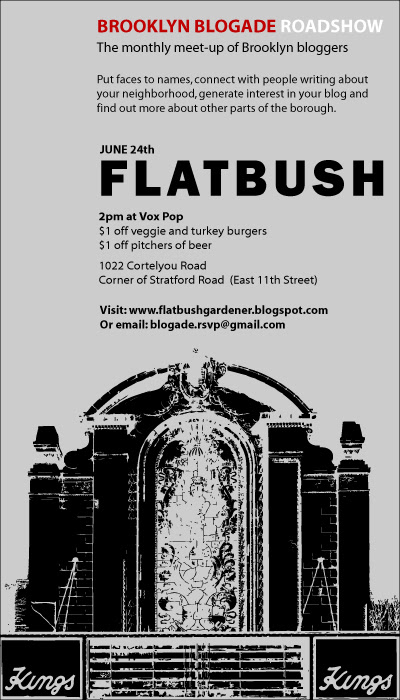 Brooklyn Blogade Flatbush Flyer (Tall & Large)