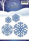 PM10051 Die - Precious Marieke - Winter Wonderland - Snowflakes