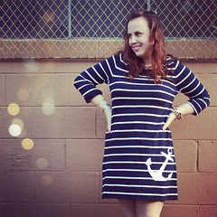 New #outfit post up on the blog now - #nautical #stripes