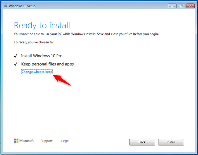 Windows 10 is ready to install