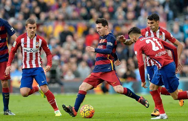 Liga Española | Barcelona venció a Atlético de Madrid con un gol de Messi